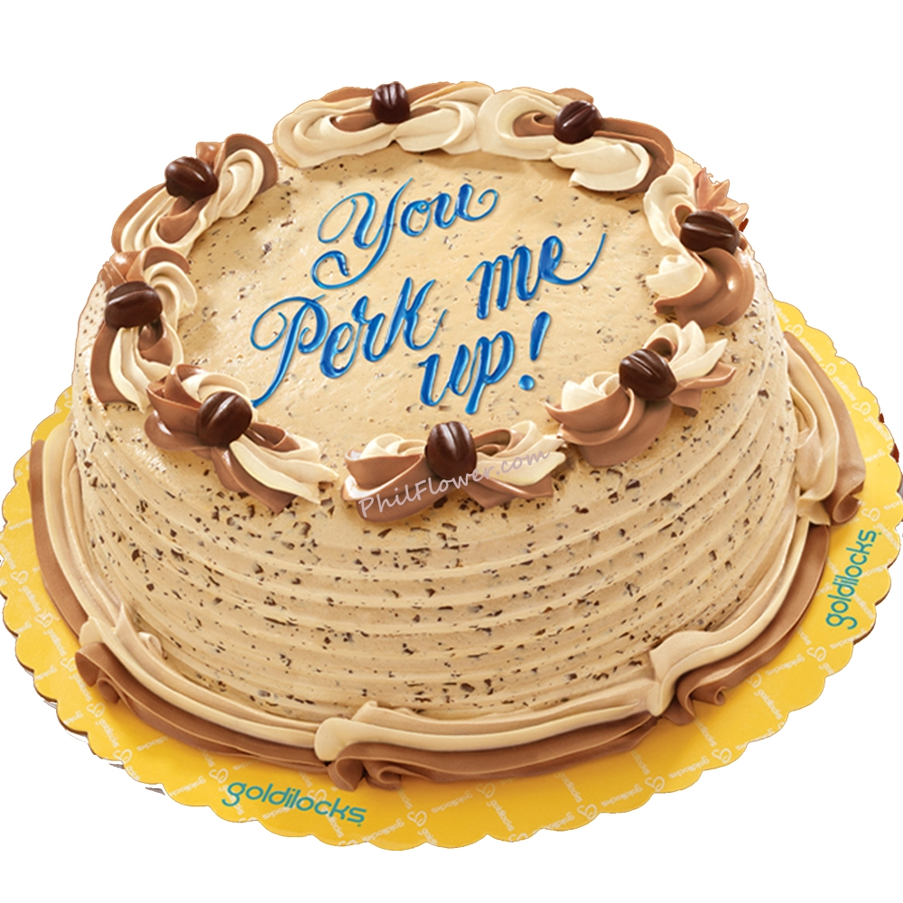 Delivery Coffee Crumble Cake By Goldilocks To Philippines