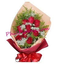 send flowers to Cagayan Valley,12 red Roses to Cagayan Valley