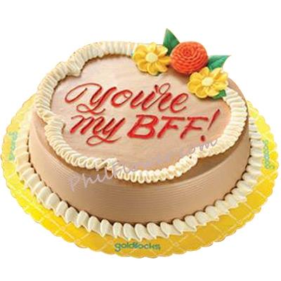 Delivery Classic Mocha Chiffon Cake By Goldilocks To