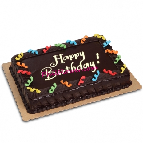 Wondrous Send Chocolate Dedication Cake By Red Ribbon To Manila Only Funny Birthday Cards Online Inifofree Goldxyz